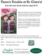 There's Trouble at St. Clare's! Join the new book club for ages 8-12